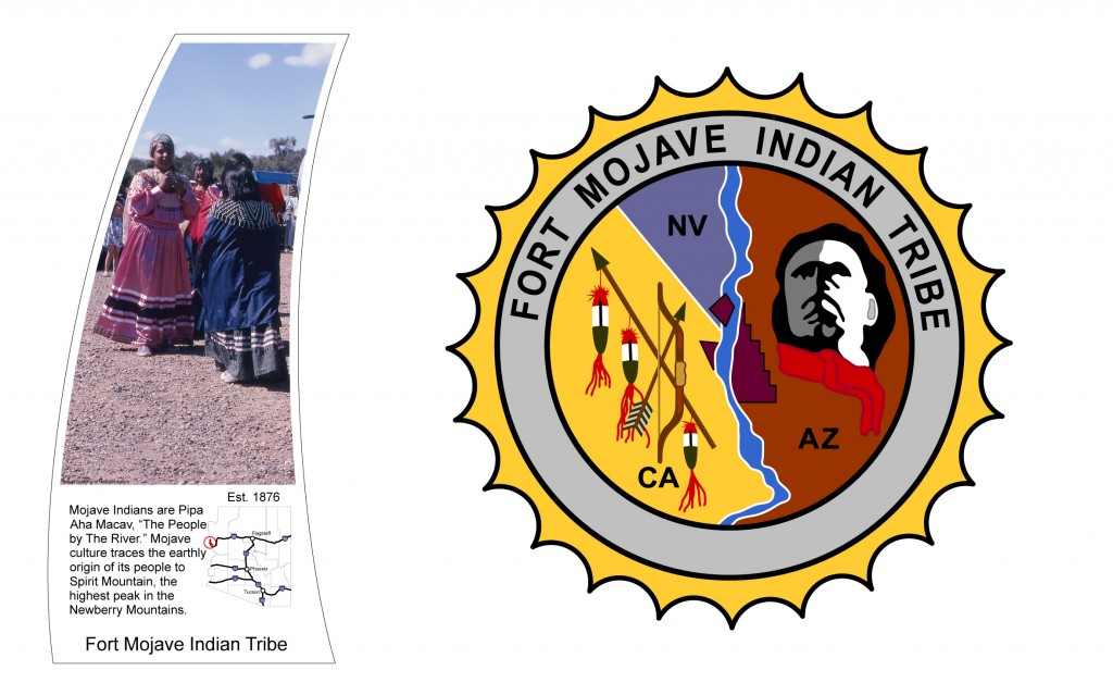 Fort Mojave Indian Tribe. Source http://centennialwayaz.com/tribal_element.htm