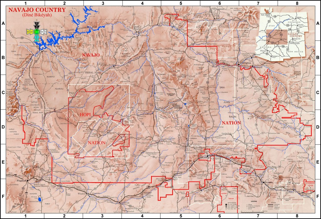 Navajo Nation. Source http://www.lapahie.com/Pictures/Navajo_Map_Lg.jpg