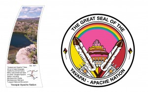 Yavapai-Apache Nation seal. Source http://centennialwayaz.com/.