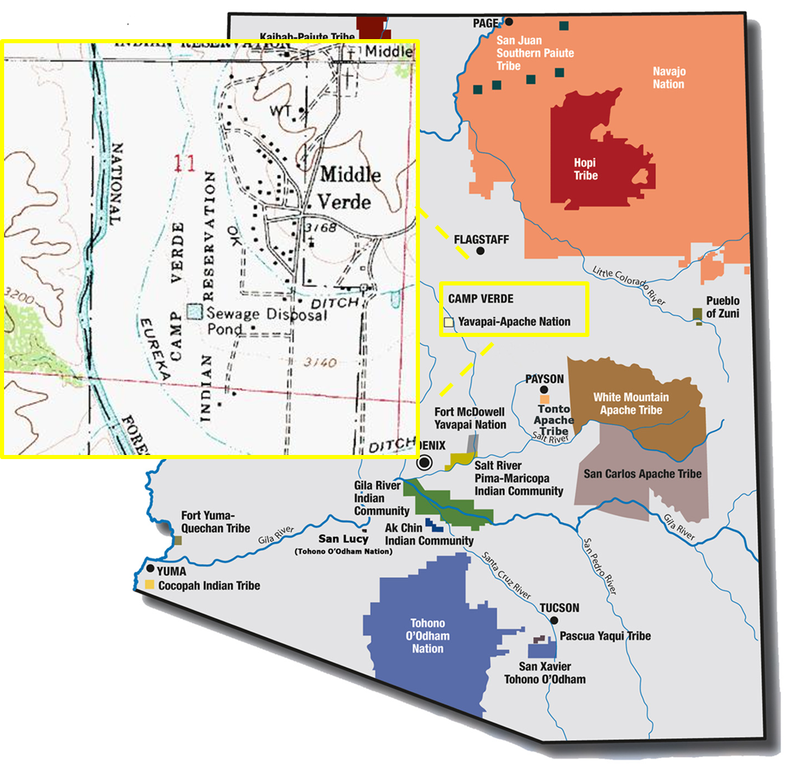 Yavapai-Apache Nation | Tribal Water Uses in the Colorado ...