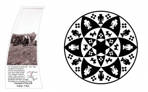 Yavapai-Prescott Indian Tribe seal. Source http://centennialwayaz.com/