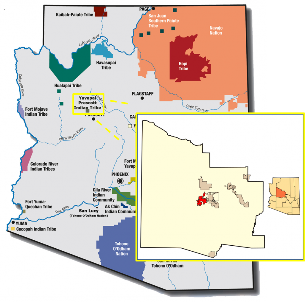 Yavapai-Prescott Indian Tribe. Source http://itcaonline.com/?page_id=16