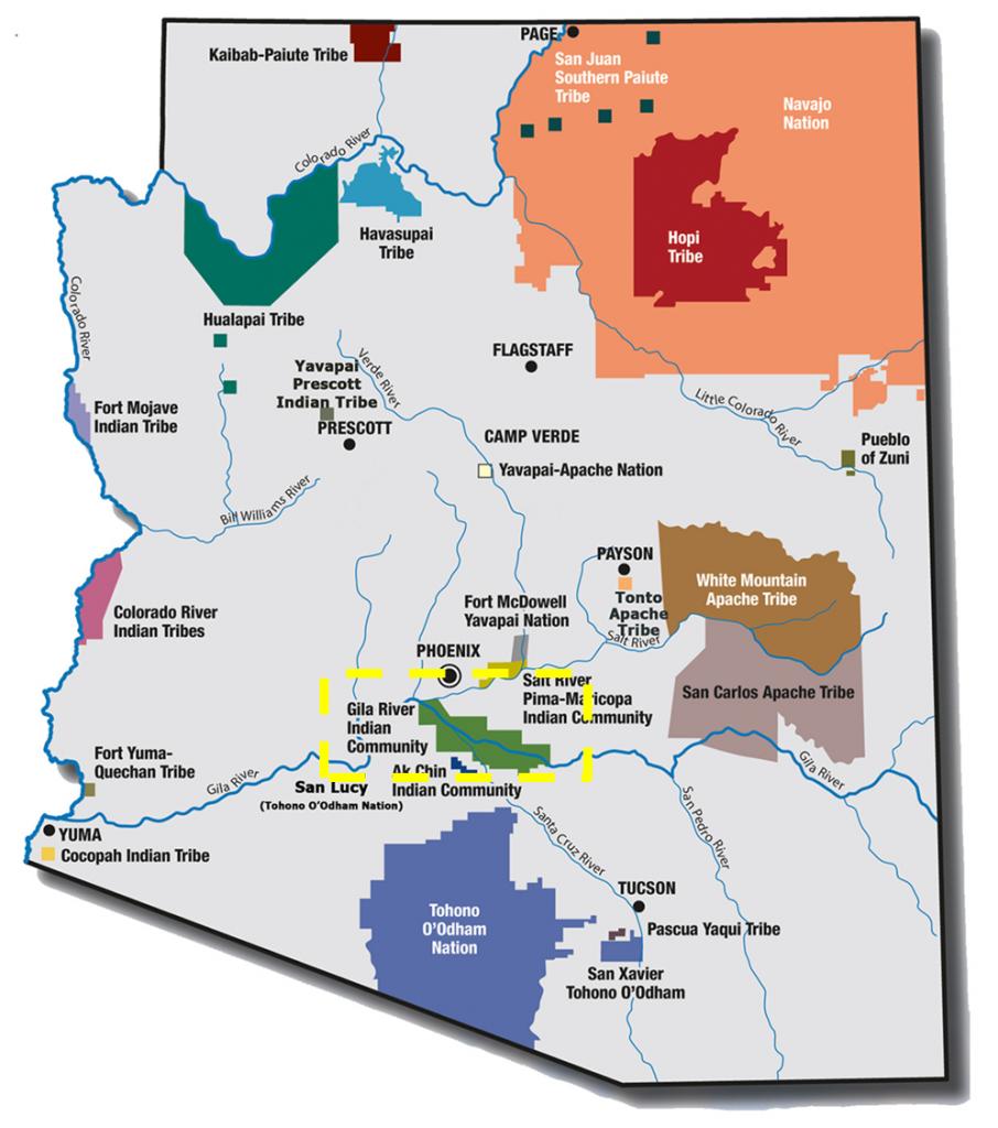 Map Of Arizona Daylight Savings Time.Time Zone Map Phoenix Arizona